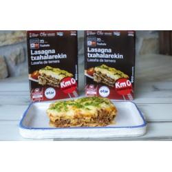 Lasagna de carne de ternera...